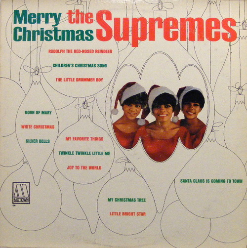 "The Supremes : Album "" Merry Christmas "" Motown Records MS 638 [ US ]"