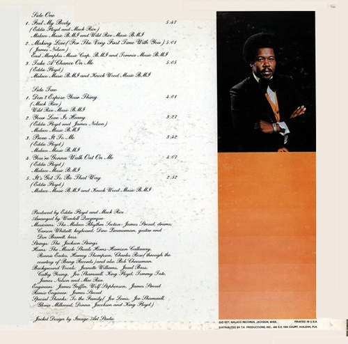 "Eddie Floyd : Album "" Experience "" Malaco Records LP-6352 [ US ]"