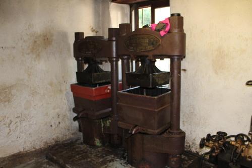 visite de l'huilerie à noix