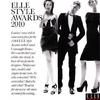 Kristen Stewart pour Elle, femme de l'année, scans magazine