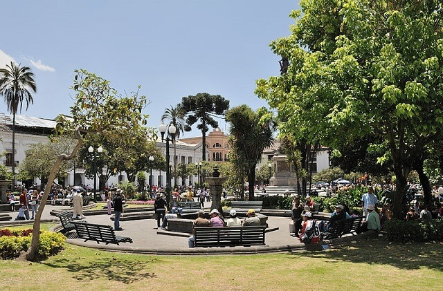 Place de l'Independance, Plaza de la Independencia, Quito