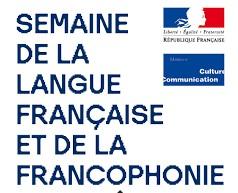 * Semaine de la langue française