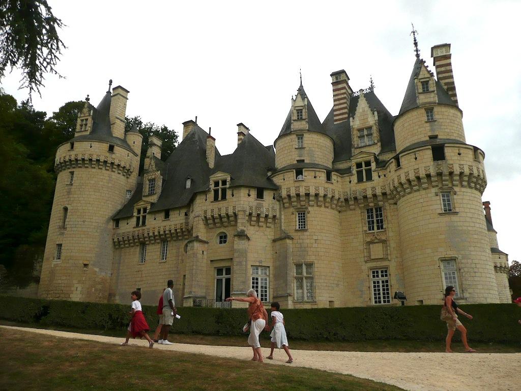 Un Château de la Loire, pour une princesse au bois dormant: Ussé