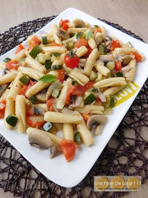 One Pot Pasta Végétarien