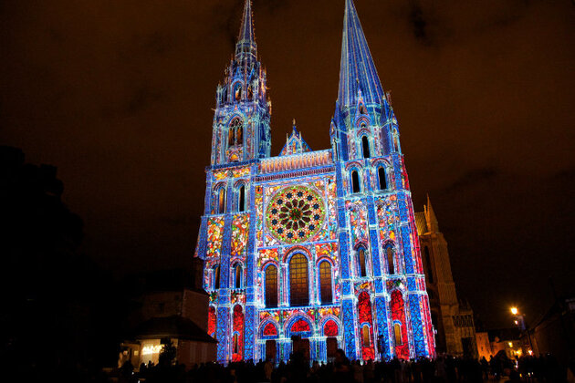 Un week-end en lumières à Chartres