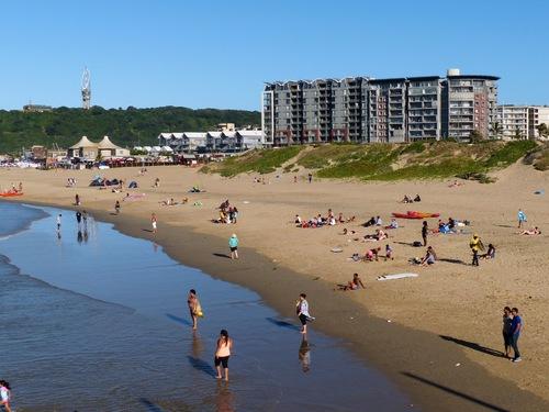 Durban et son immense plage