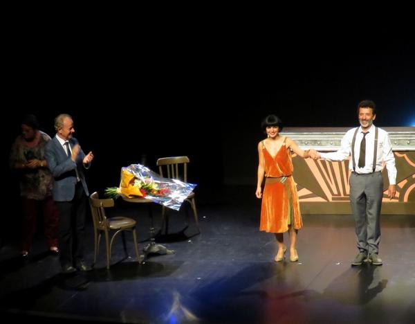 """""""Kiki, le Montparnasse des Années folles"""", un éblouissant spectacle offert aux spectateurs du Théâtre Gaston Bernard de Châtillon sur Seine..."""
