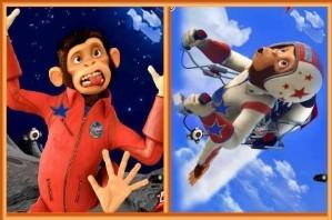 Space chimps - Similarities