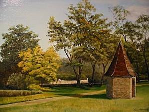 1 Le colombier au parc des Tourelles