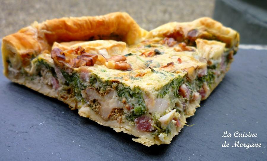 Quiche Epinards Lardons Et Chevre La Cuisine De Morgane