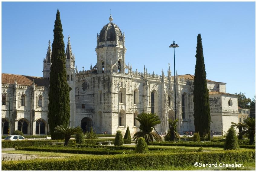 Lisboa - Monastère des Hiéronymites. (Dos Jerónimos)