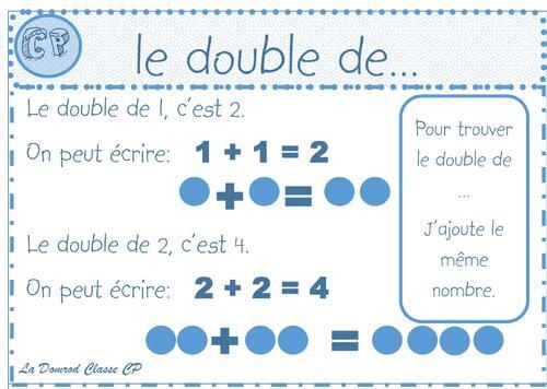 Leçon le double de...