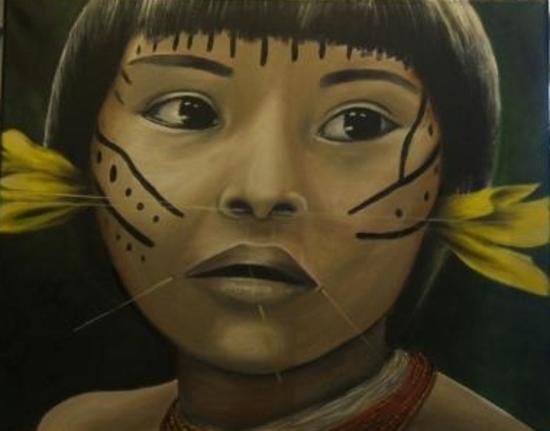 Enfant Yanomami
