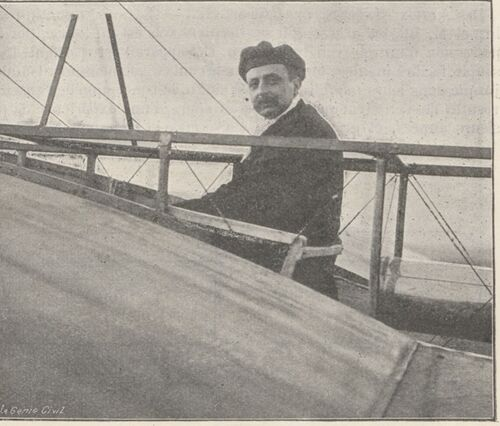La traversée de la Manche en aéroplane
