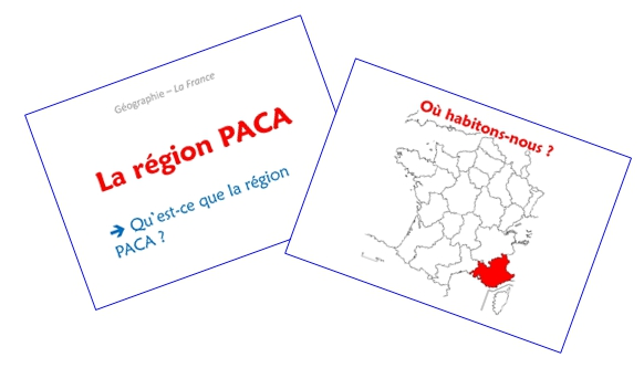 La région PACA (diaporamas)