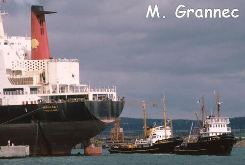 Le Miralda à quai