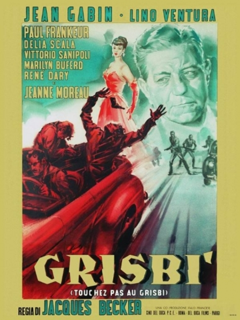 TOUCHEZ PAS AU GRISBI -  JEAN GABIN BOX OFFICE 1954