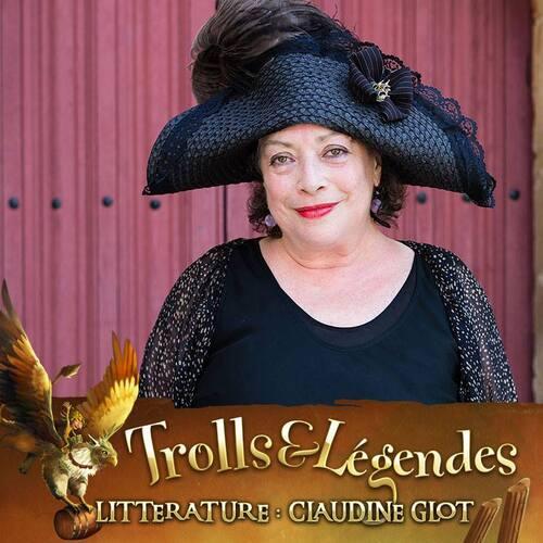 Claudine Glot sera bien présente à @TrollsLegendes