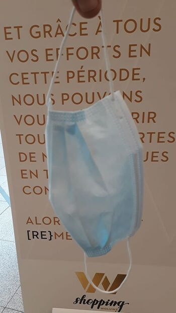 Wolu1200 : Port du masque obligatoire dans la commune... suite