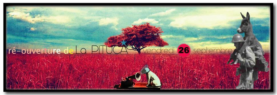 ★ PAS de PITUCA ce vendredi 5 sept, ré-ouverture le vendr. 26 ★