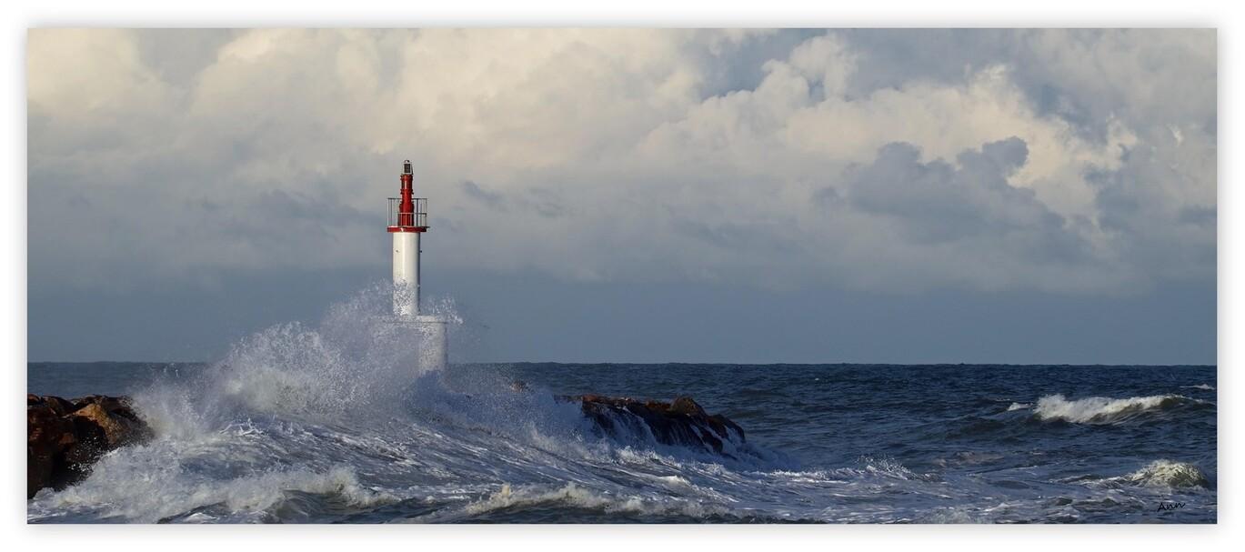 Jour de tempête (2 - jeudi 24 Septembre 2016 - Le Barcares)