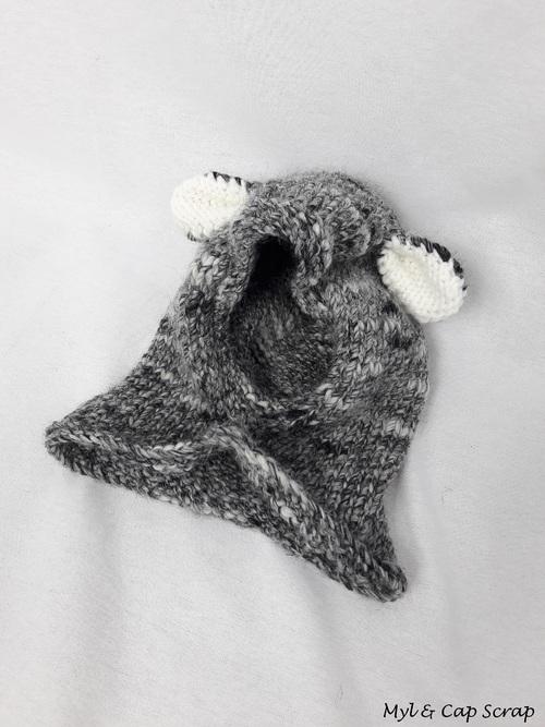 Caps : Un petit ours gris
