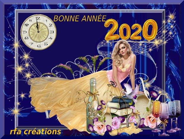 JE VOUS SOUHAITE UNE BONNE ANNÉE 2020!