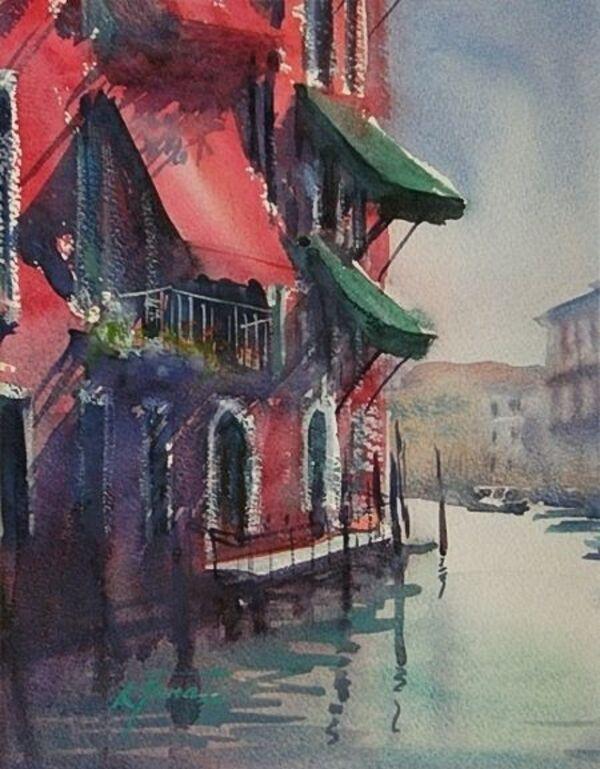 Peinture de : Keiko Tanabe