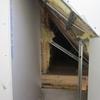 Pose placo des coffres de l\'étage (2)