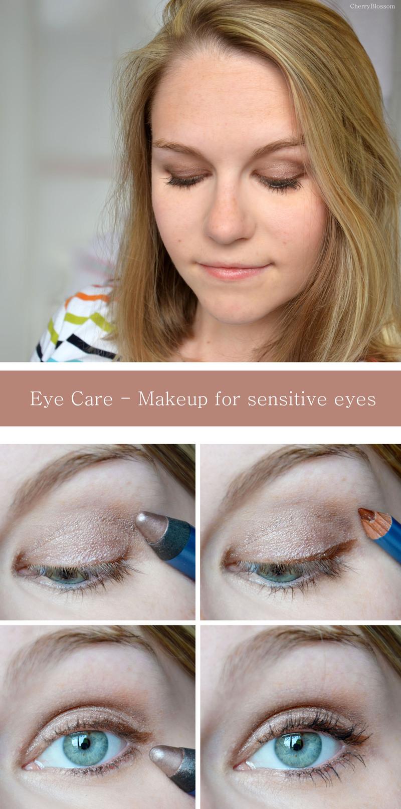 Comment se maquiller lorsqu'on a les yeux sensibles ?