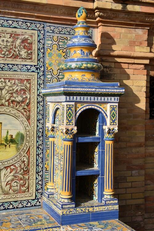 Céramique - Place d'Espagne - Séville