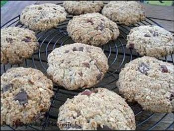 biscuit flocon d'avoine coco