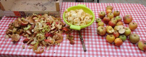 Les bonnes pommes!