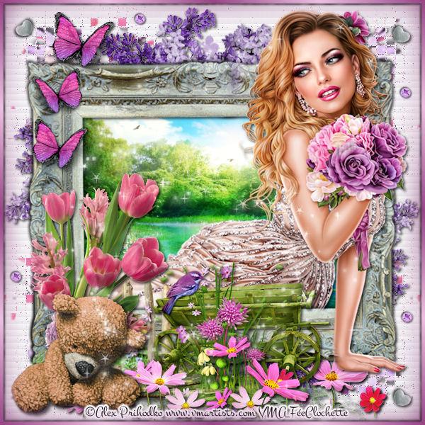 Vivienne in spring