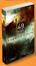 """""""49 jours"""" Fabrice Colin"""