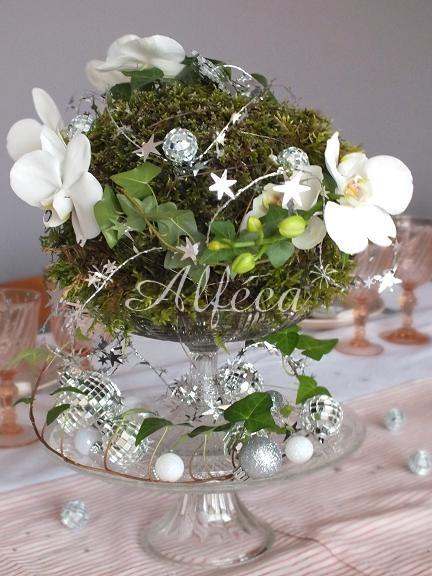 Art de la table - Blanc, vieux rose, argent #06