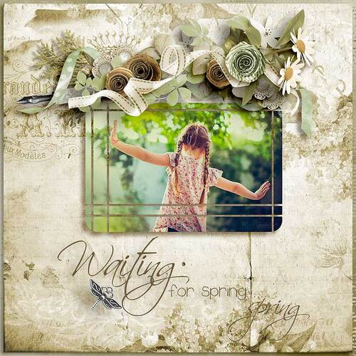 Wainting For Spring by dentelle scrap