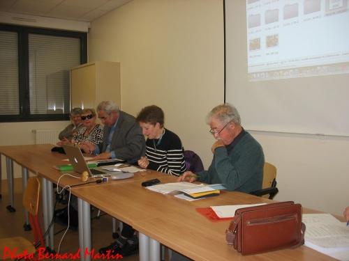 La Société Mycologique duChâtillonnais a tenu son Assemblée Générale pour 2012...