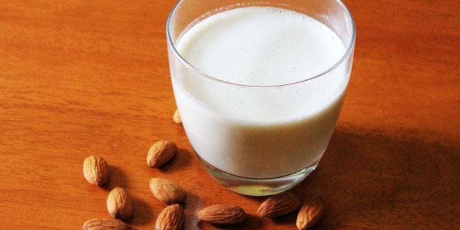 Du lait d'amande