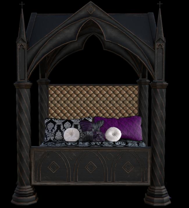 Tube de lit gothique (image-render)