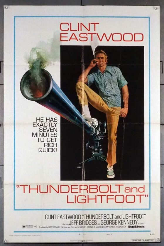 THUNDERBOLT AND LIGHTFOOT BOX OFFICE USA 1974