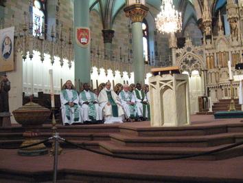 Homélie - Messe dominicale avec les membres de la Famille Franciscaine internationale participant au Forum social mondial de Montréal