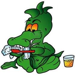 autour du crocodile