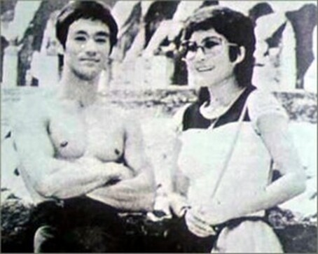 Bruce Lee et Betty Ting Pei
