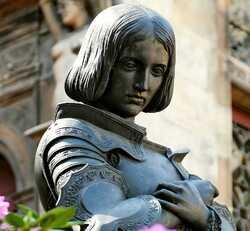 L'anneau de sainte Jeanne d'Arc arrive en France !