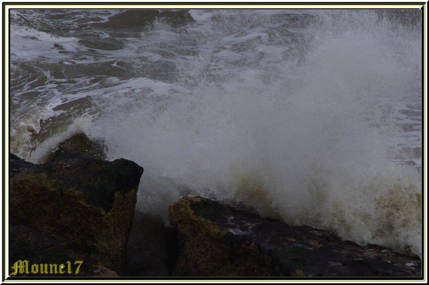 St Georges de Didonne sous la tempête
