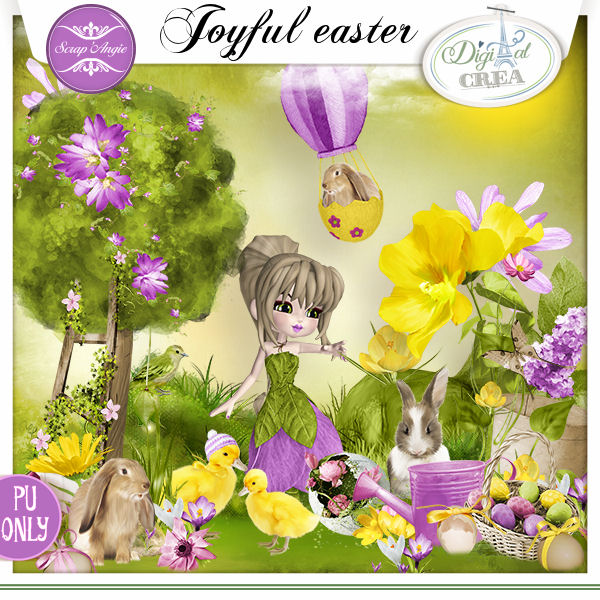 joyful easter by Scrap'Angie