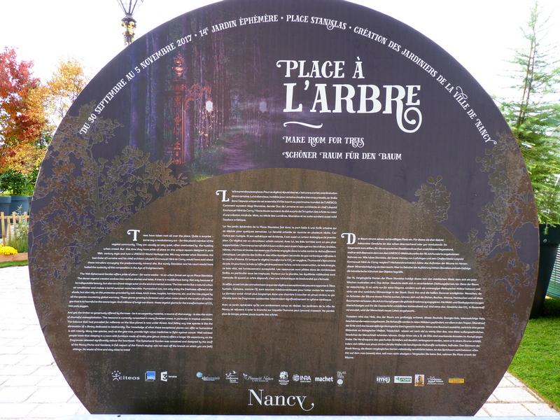 Jardin Ephémère à Nancy