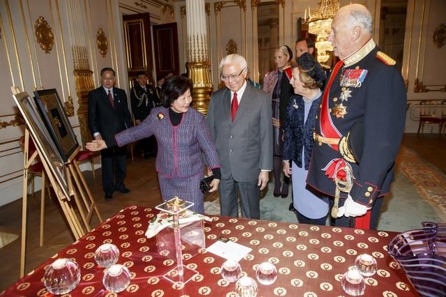 Visite d'état de Singapour