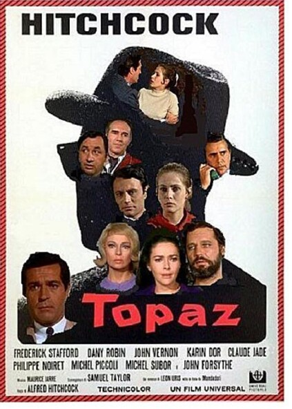 TOPAZ USA BOX OFFICE 1970